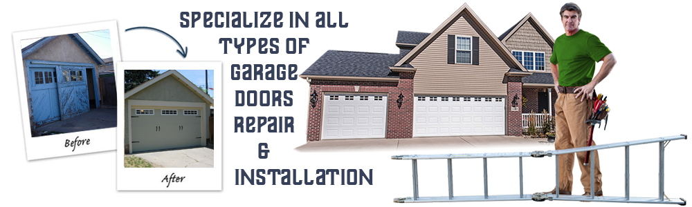 Garage Door Repair  North Houston  TX banner