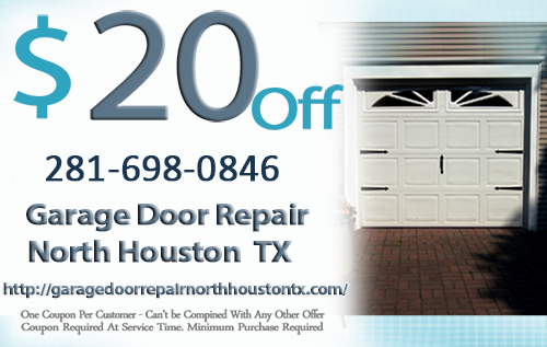 Garage Door Repair  North Houston  TX Coupon